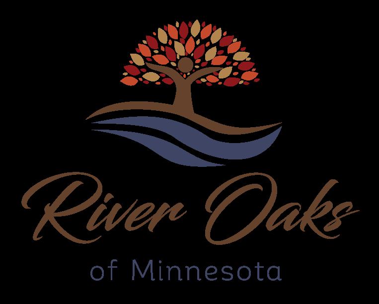 River Oaks of MN Vertical Logo Full Color